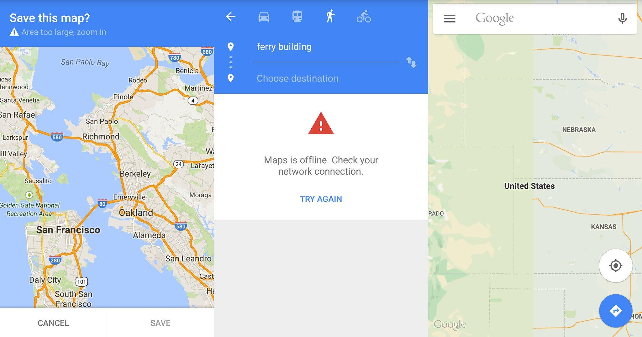 How to save offline map google map app ltt google maps offline gumiabroncs Gallery