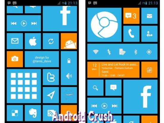 Windows launcher for android