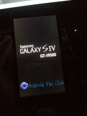 Samsung Galaxy S 4 - GT-i9500 - Leaked Picture