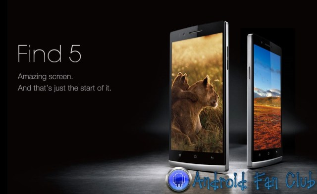 Oppo Find 5 - Android Smartphone