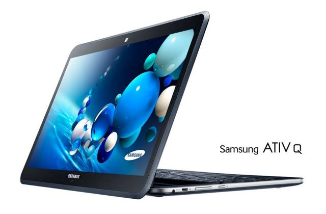 Samsung ATIV Q - Hybrid Tablet & Notebook with Windows 8 & Android OS