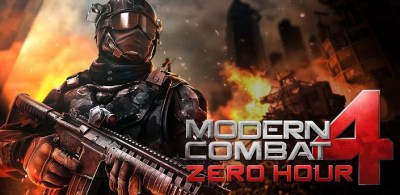 Modern Combat 4: Zero Hour Android APK Download