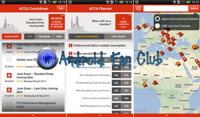 ACCA Student Planner for Android