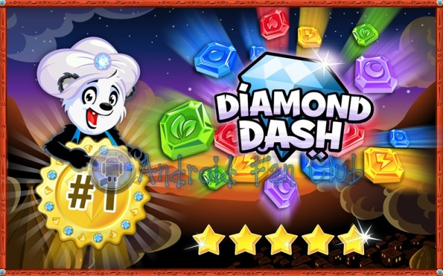 Diamond Dash for Android smartphones & tablets