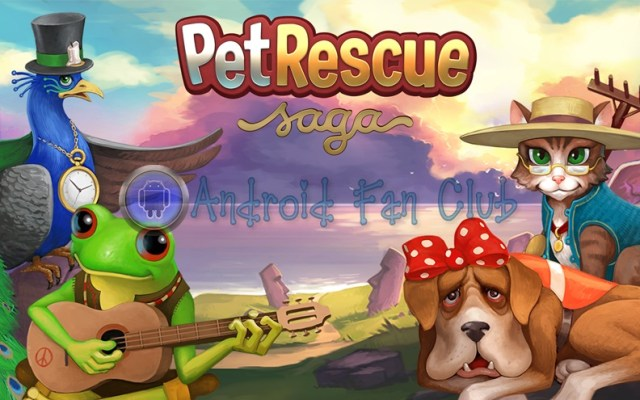Pet Rescue Saga for Android smartphones & tablets