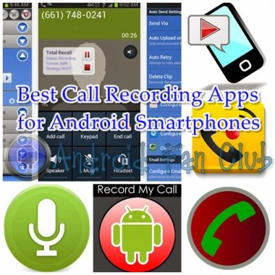 Best and Top Rated Call Recording Apps for Android