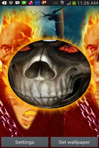 3D Ghost Rider Live Wallpaper Android App APK by Totallyproducts