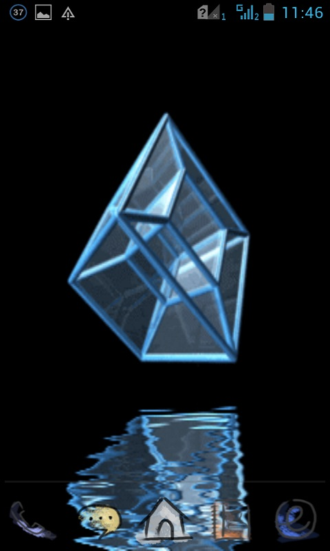 3d Cube Wallpaper Apk 3d Glass Cube Lwp Free Apk Android App Android Freeware