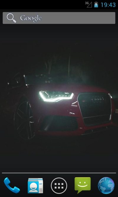 Audi RS6 Live Wallpapers Android App APK by ozhar