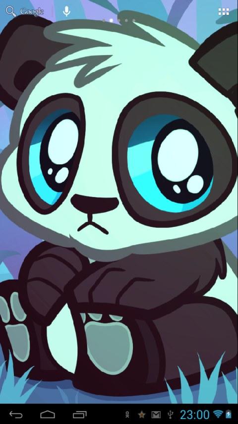 Free Download Girl Wallpaper For 360x640 Blue Panda Wallpaper Impremedia Net