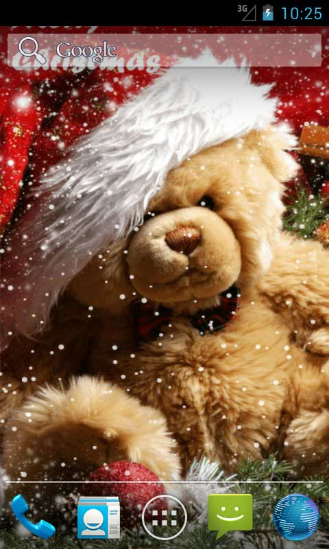 3d Christmas Live Wallpaper Apk Free Download Christmas Teddy Bear Live Wallpapers Apk Download For Android