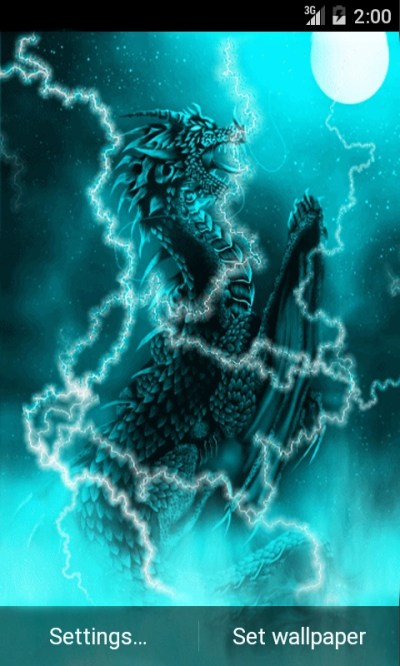 Dragon of Light Live Wallpaper Android App - Free APK by andapplique