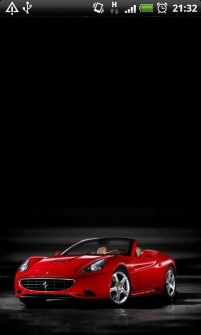 Ferrari on your phone Live Wallpaper Android App APK by Totallyproducts