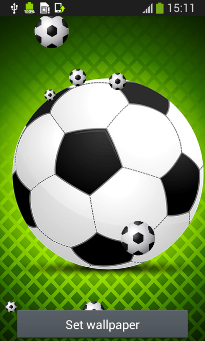Football Live Wallpapers Android App APK by Popular Melodies