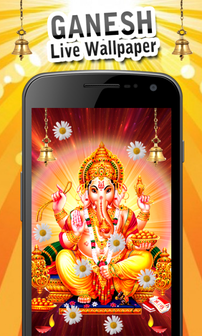 Ganesh Live Wallpaper New Android App - Free APK by Gigo Multimedia
