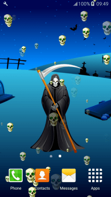 Grim Reaper Live Wallpapers free APK android app - Android Freeware