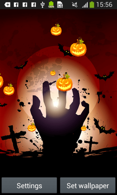 Halloween Live Wallpapers Free free APK android app - Android Freeware