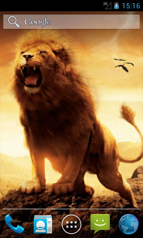 Lion Quotes Wallpaper Lion And Lightning Live Wallpapers Android App Free Apk