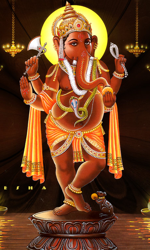 Ganpati Bappa 3d Wallpaper Lord Ganesha Wallpapers Android App Apk By Peaksel