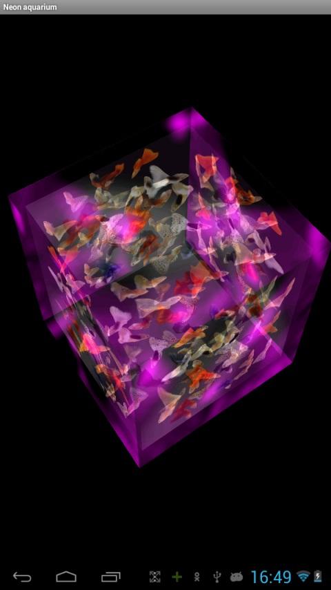 3d Cube Wallpaper Apk Neon Aquarium Android App Free Apk By Martats