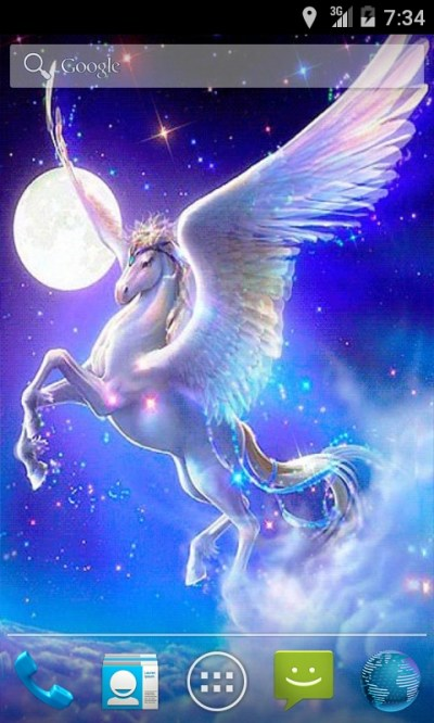 Pegasus Fantasy Live Wallpaper App Download