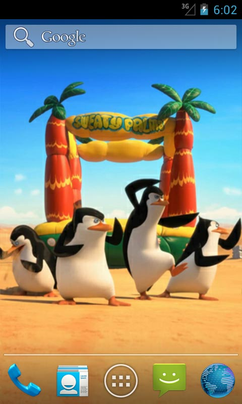 Cute Live Wallpapers For Android Apk Penguins Of Madagascar Live Wallpapers Free Apk Android