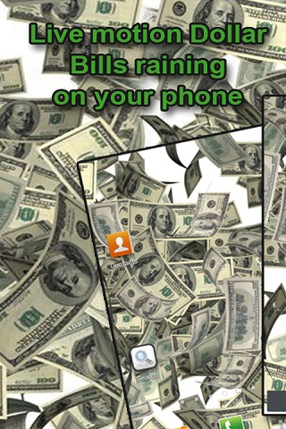 Raining Money Live Wallpaper Android App APK by Totallyproducts