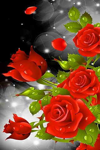 Red Rose Party Live Wallpaper Android App APK by Totallyproducts