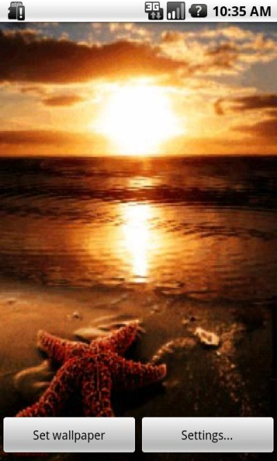 Summer Sunset Live Wallpaper Android App APK by ozhar