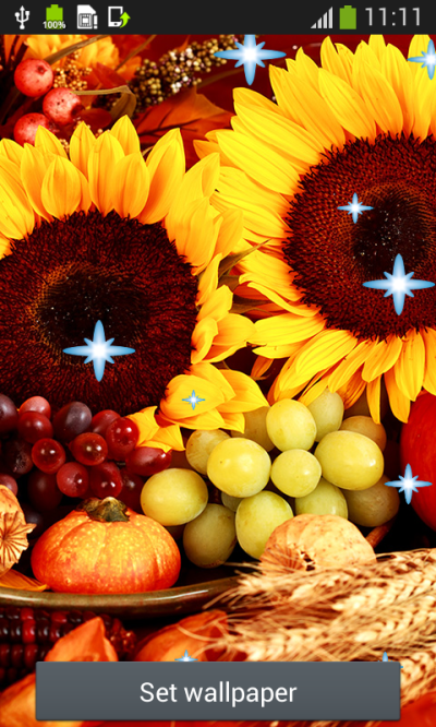 Thanksgiving Live Wallpapers Top free APK android app - Android Freeware
