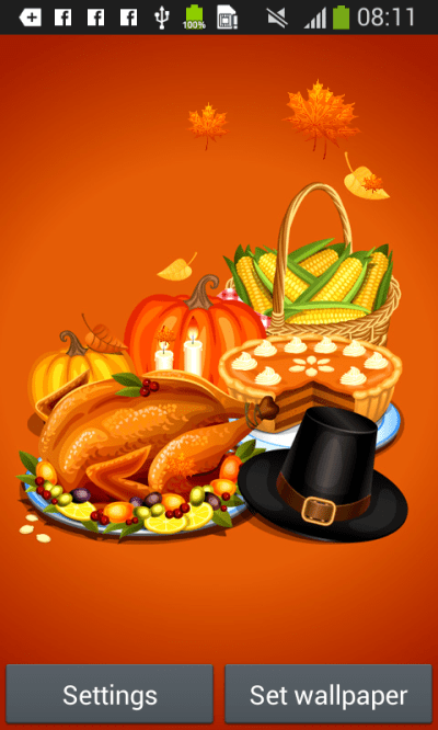 Thanksgiving Live Wallpaper Android Apps on Google Play