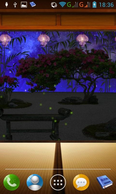 Zen Garden Fall Live Wallpaper Apk Zen Garden Lwp Free Apk Android App Android Freeware