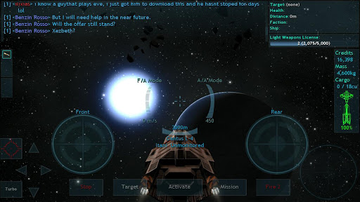 Vendetta Online (3D Space MMO)