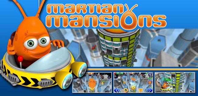"Martian Mansions ""Tetris"""