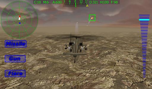 Apache Chopper Pilot 3D HD