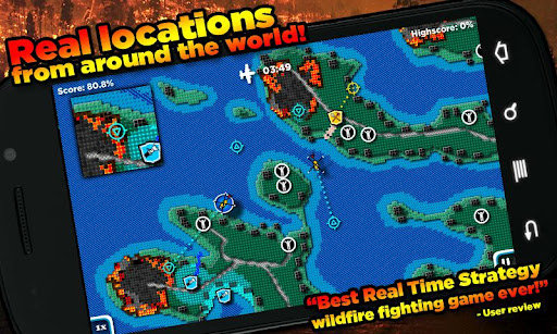 FireJumpers - Wildfire RTS