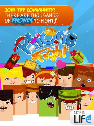 Phone Fight - The Beginning