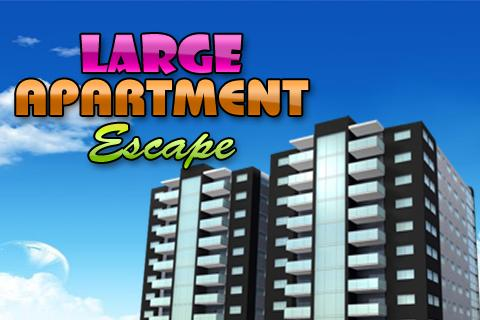 Escape from Large Apartment