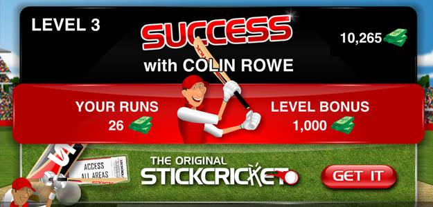 Stick Cricket Partnerships