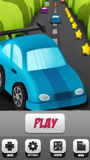 Speed Racing Drag Highway