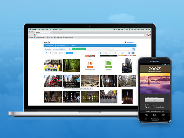Back up everything with a 1TB lifetime Zoolz cloud storage, just $29