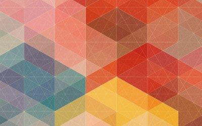 50 rich and colorful geometric wallpapers for your mobile devices (HD and QHD resolution)