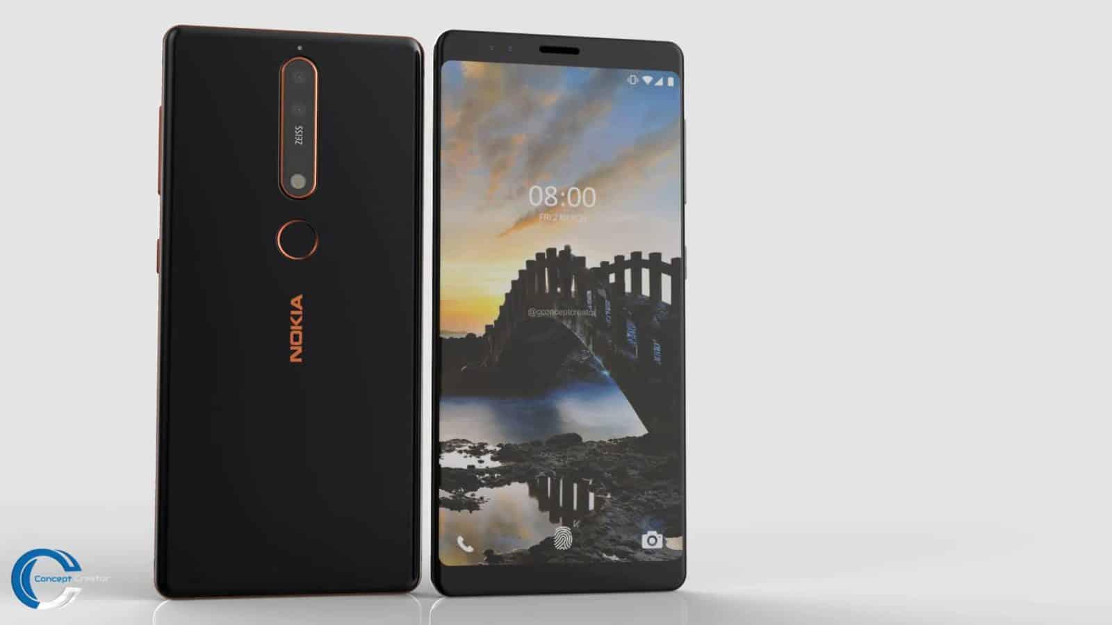 Samsung Note 2 Car Wallpaper Video Nokia 8 Sirocco Concept Comes With Quad Camera