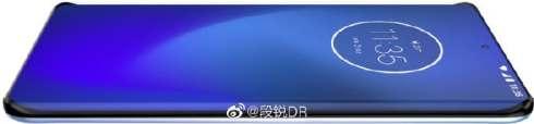 Motorola quad curved screen phone renders 3