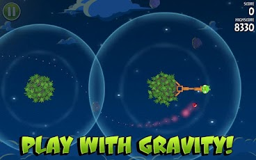screenshot angry birds space