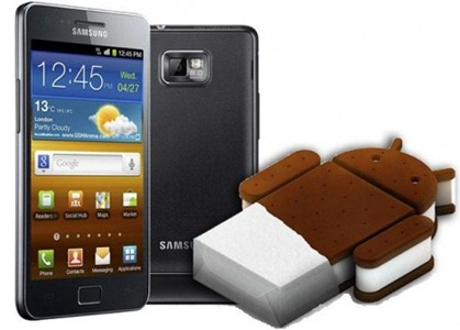Android 4 Ice Cream Sandwich Samsung per Galaxy S2 ICS Download