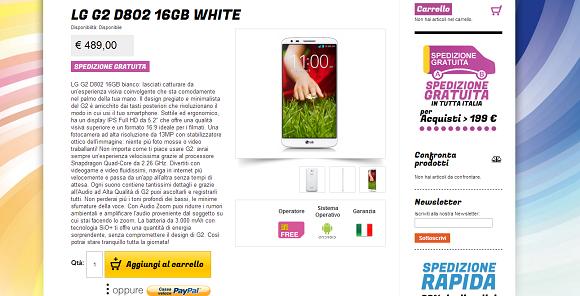 LG G2 Offerta
