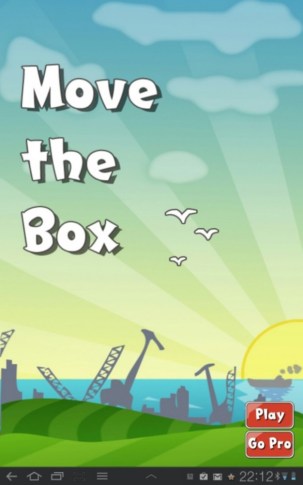 So geht´s los bei Move the box