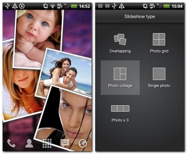 Was darf's sein? Die App bietet mehrere Möglichkeiten an, um die Lieblingsbilder aufs Display zu zaubern.