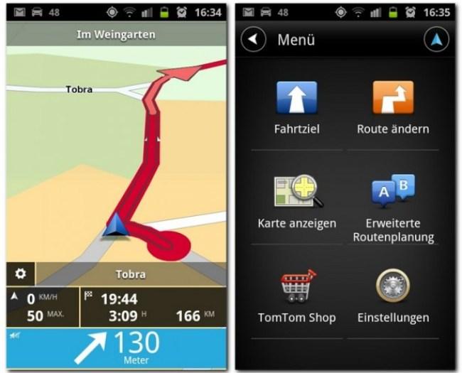 Der erste Versuch von TomTom Navigon bei den Navi-Apps Konkurrenz zu machen.